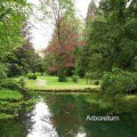 Arboretum - Der frühere Privatpark der Bally-Familien heute der Allgemeinheit als Arboretum zugänglich